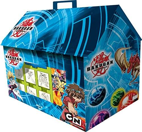Bakugan Multiprint Bakugan Tiny House Collection - Juego de sellos de goma