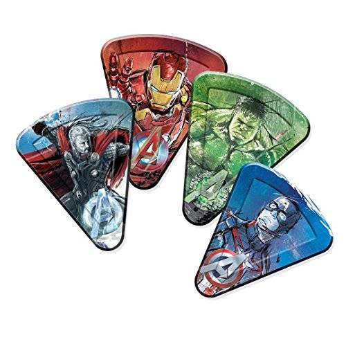 Unique Avengers Edad de Ultron Pizza Platos de papel, pack de 8
