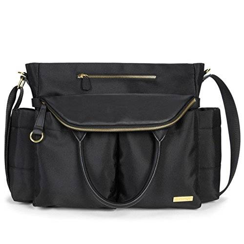 Skip Hop Chelsea Downtown Chic Black - Bolso cambiador