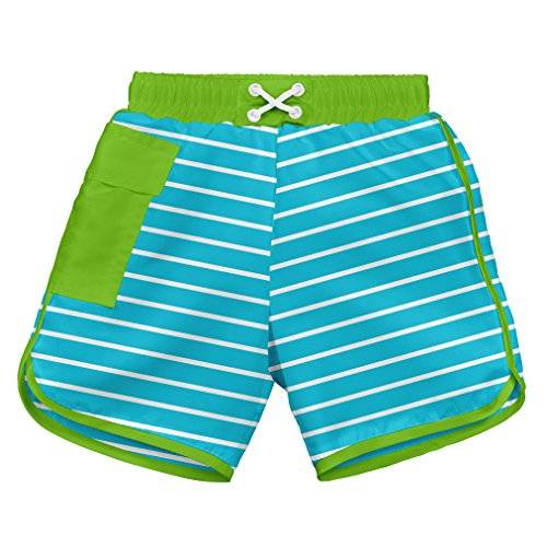 iPlay i play. 722185-638-45 - Short corto con pañal, para nadar, 18-24 meses, color azul