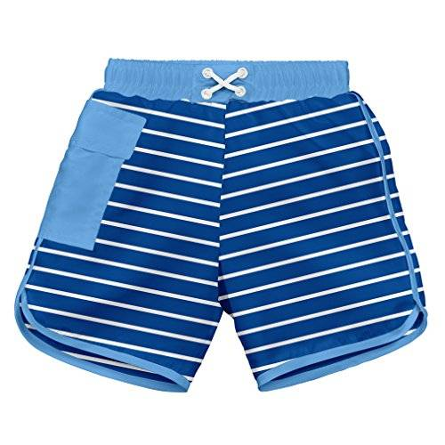 iPlay i play. 722185-646-43 - Short corto con pañal, para nadar, 6-12 meses, color azul