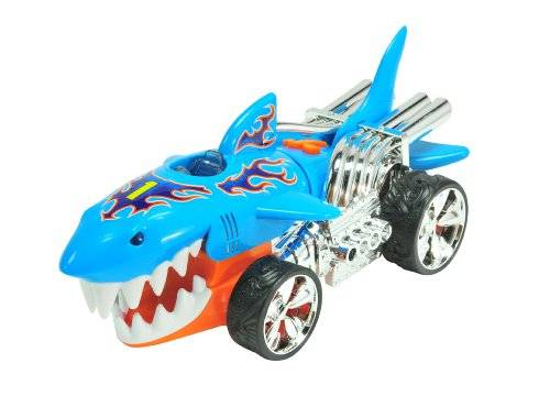 Hot Wheels - Extreme Action L&S: 2 Asstd, Sharkruiser (Toy State 90512)