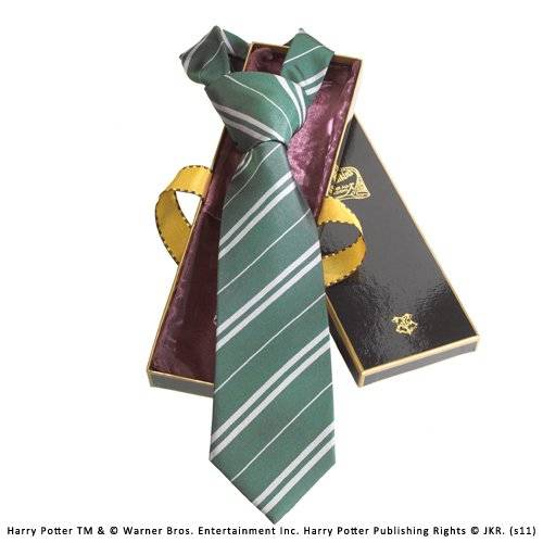 Noble Collection – Harry Potter corbata Slytherin Deluxe