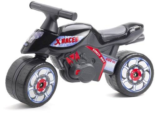 Falk 403 - Toy Motorcycle Racer X, color: Negro