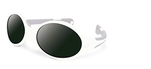 Visiomed Baby VisiopticaKids - Gafas reverso, 0-12 meses, color blanco y gris