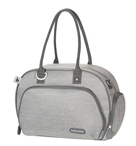 Babymoov Trendy A043574 - Bolso maternal, color gris