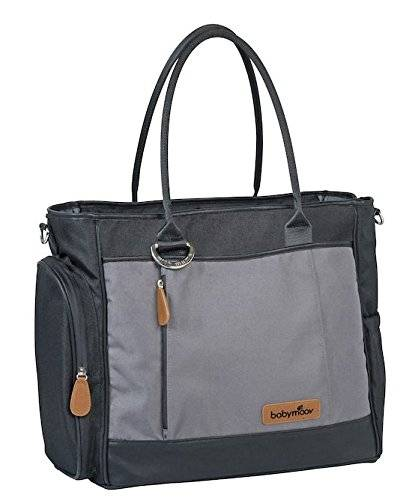Babymoov Essential A043554 - Bolso maternal, color negro