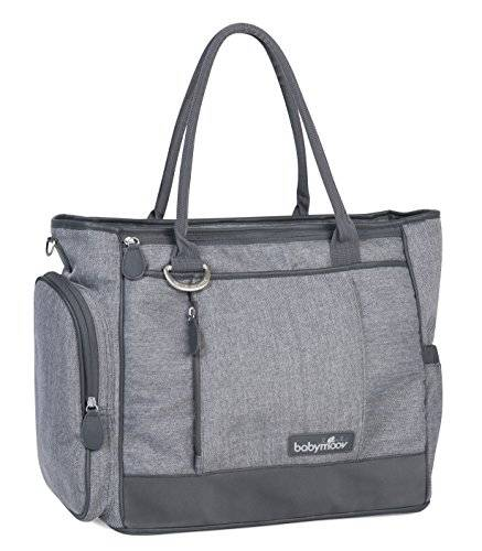 Babymoov Essential A043552 - Bolso maternal, color gris