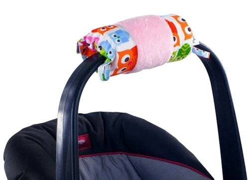 Itzy Ritzy – Wrap y rollo Infant Carrier brazo Pad y alfombrilla de barriga (Hoot)