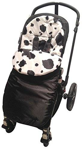 For-your-Little-One Animal Print acolchado saco/Cosy Toes Compatible con Phil y Teds Navigator/lunares–Vaca