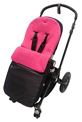 For-your-Little-One Saco/Cosy Toes Compatible con Quinny oscuro rosa