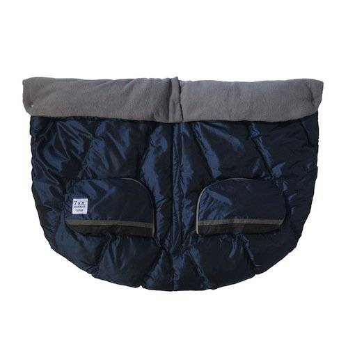 M&A 7AM Duo Blanket Saco de Invierno, Met. Prussian Blue