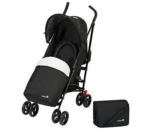 Safety 1st Slim Comfort Pack - Silla ligera, color Splatter Black