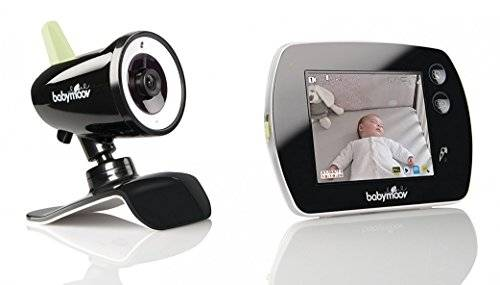 Babymoov Video Touch Screen A014411 - Vigilabebés, color negro
