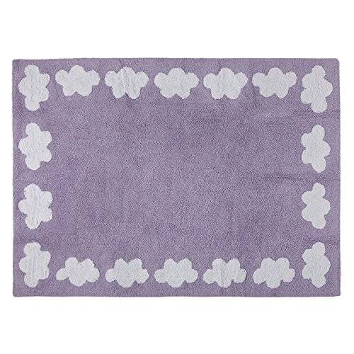 Happy Decor Kids HDK-212 - Alfombra lavable, color malva