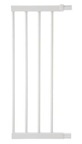 Safety 1st Easy Close Metal - Extensión de 28 cm para barrera de seguridad, color blanco