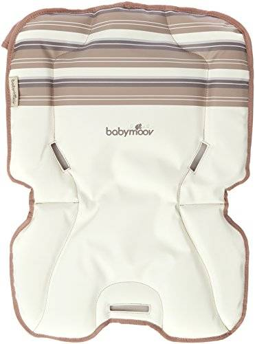 Babymoov A010207 - Cojín para trona Light Wood Confort, color marfil y beige