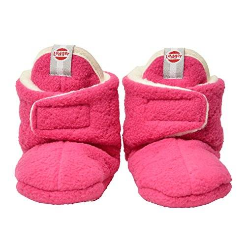 LODGER slfsy3001573 Zapatillas Baby Polar Color Rosa, 3 – 6 m