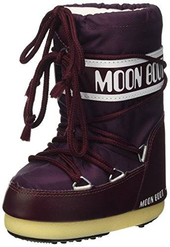 Moon Boot unisex, niños 0-24 140044 zapatos Walking Baby Morado Size: 31/34