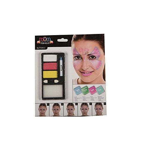 My Other Me - Kit maquillaje adulto mariposa (Viving Costumes 207094)