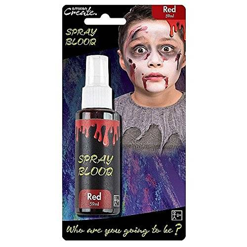 Amscan International – Spray de color rojo sangre 59 ml botella