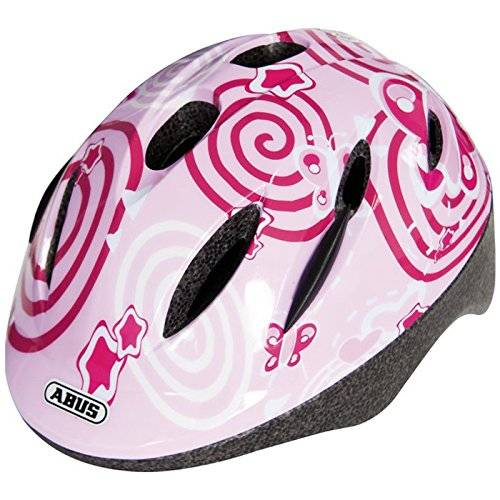 Abus 395871 - SMOOTY_ZOOM_PINK_BUTTERFLY_S Casco Niño Smooty Zoom pink butterfly S