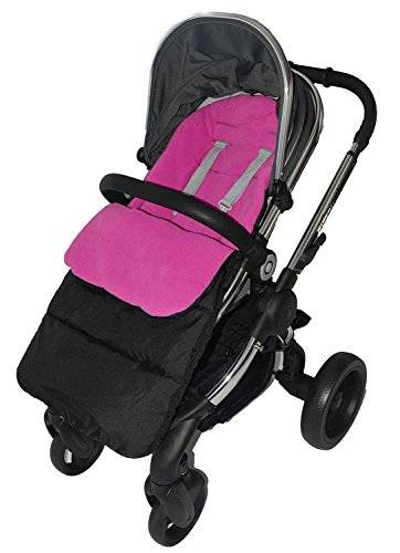 For-your-Little-One Saco/Cosy Toes Compatible con iCandy Peach para carrito, color rosa