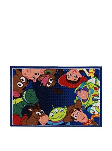 Disney Alfombra Disney A.L. Toy Story Ts06 Azul/Multicolor size is not in selection ES