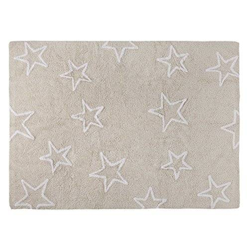 Happy Decor Kids HDK-216 - Alfombra lavable, color crema