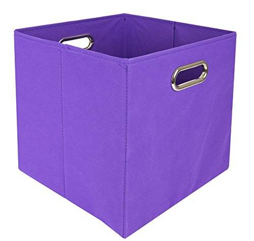 Modern Littles Littles moderna plegable compartimiento de almacenaje (color Pop Purple Solid)