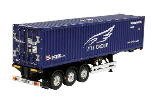 Tamiya 40-Foot Container - scale model accessories (Azul)