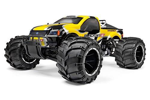 Maverick MV12404 Blackout - Monster truck (escala: 1:5, completamente montado, gasolina), multicolor