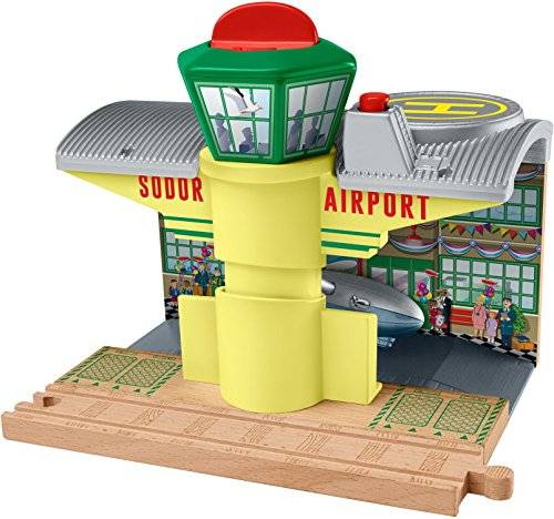 Fisher-Price Fisher Price Thomas & Friends DTB96 Railway station parte y accesorio de juguet ferroviario - partes y accesorios de juguetes ferroviarios (Railway station, Fisher Price, Multicolor, Madera)
