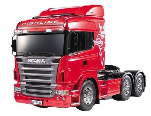 Tamiya Scania R620 Highline - Radio-Controlled (RC) land vehicles (Cochecito de juguete)