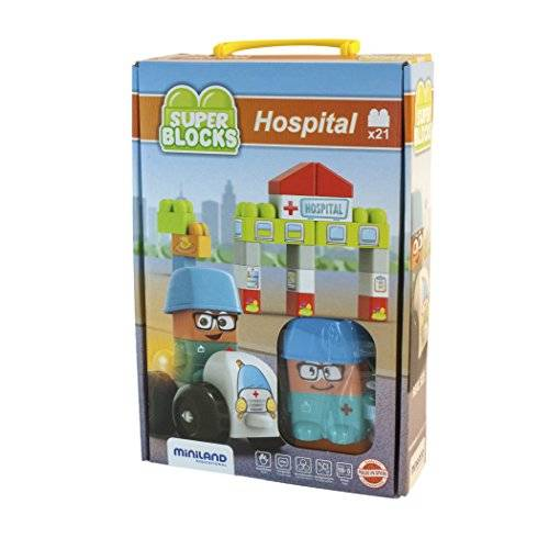 Miniland - Super Blocks Hospital (32351)