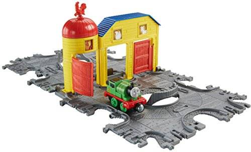 Fisher-price - Fisher price thomas & friends take-n-play farm tile tracks with percy train
