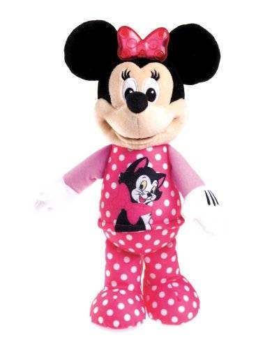 Fisher-Price Fisher Price X5457 Mickey Mouse - Peluche de Minnie musical
