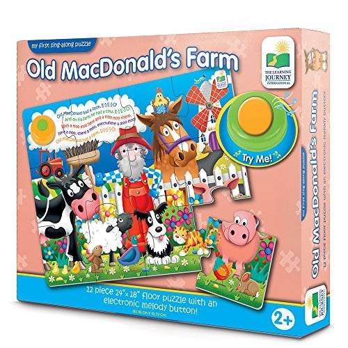 Learning Journey PUZZLE MUSICAL OLD MACDONALD