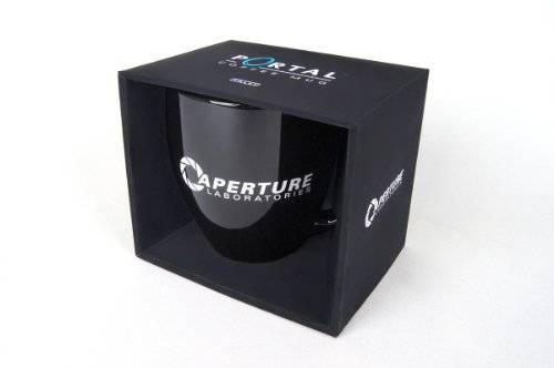 Gaya Entertainment GmbH Aperture Laboratories Tasse 'Portal 2' [Importación Alemana]