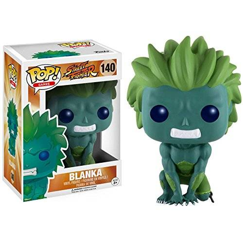 FunKo Pop! Games: Street Fighter Green Blanka [Importación Alemana]