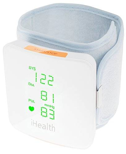 iHealth Wireless blood Pressure Wrist Monitor Antebrazo Automatic blood pressure unit - Tensiómetro