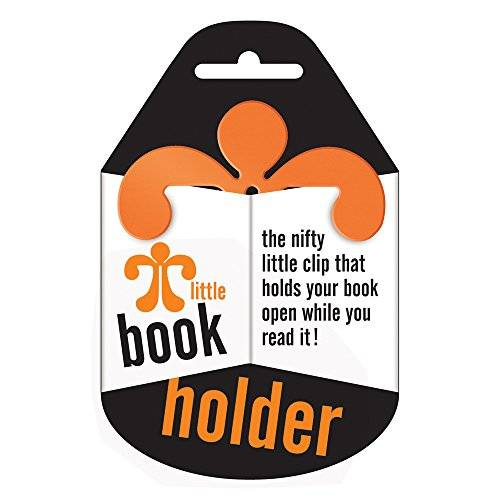 That Company Called If Little Book Holder - Sujetalibros, color naranja