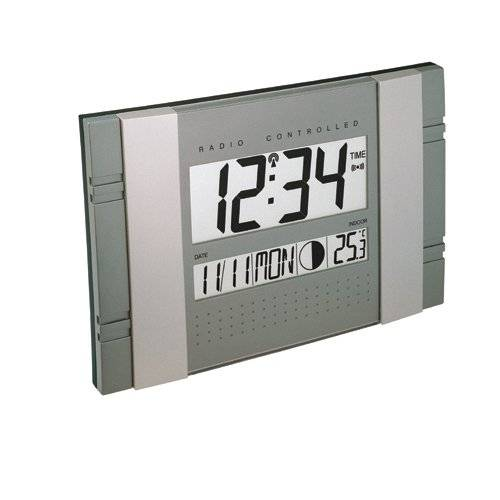 Technoline Ws 8001 - Reloj de Pared, color azul Y Plata