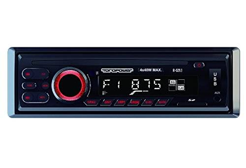 Toropower R-029.1 - Radio MP3, WMA, color negro