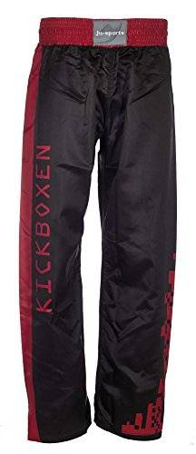 Ju-Sports Kickboxhose Step - Prenda, color negro / rojo, talla 170