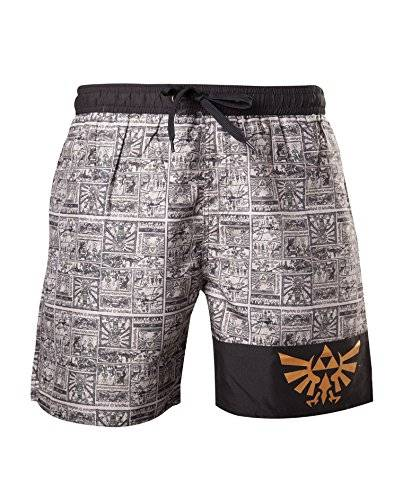 Bioworld Short De Bain 'The Legend Of Zelda' - Storyboard - Taille XL [Importación Francesa]