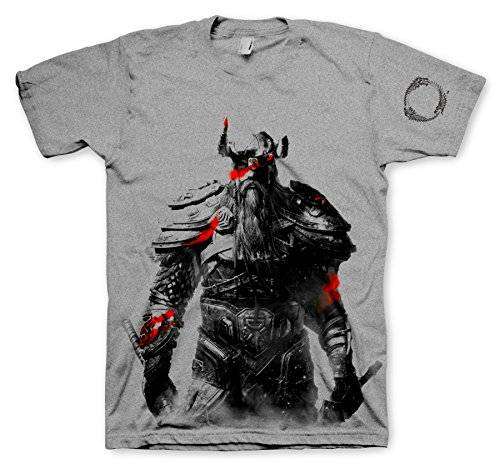 Gaya Entertainment GmbH The Elder Scrolls Online T-Shirt Nord, Size M [Importación Alemana]