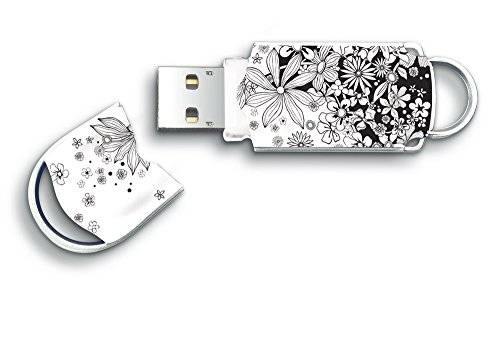 Integral Pendrive Integral Xpression Flowers - 32Gb - Usb 2.0 - Compatible Pc Y Mac