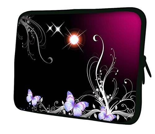Ektor Luxburg 20.07 cm iPad Mini Funda de neopreno Funda para Tablet PC Butterflies and Magic Plant