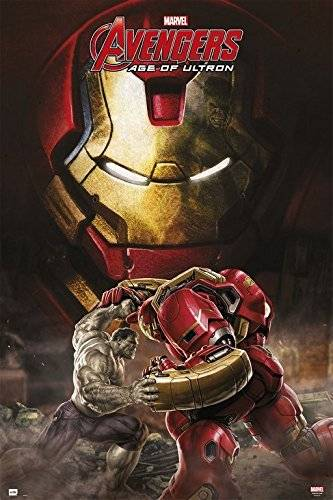 Grupo Erik Editores   Poster Marvel Avengers Age Of Ultron Hulkbuster